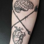 Heart and brain by Roald Van Broek