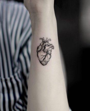 Heart by Stella TX tattoo