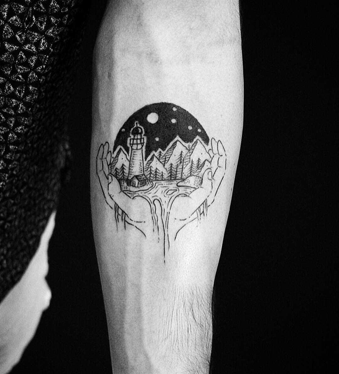 Landscape in hands by Jas.Fuketyfuk