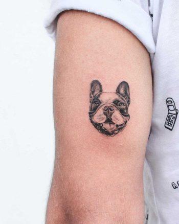 Little doggo tattoo