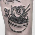 Noodles tattoo