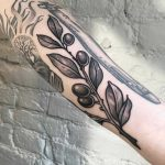Olive branch by Sasha Tattooing