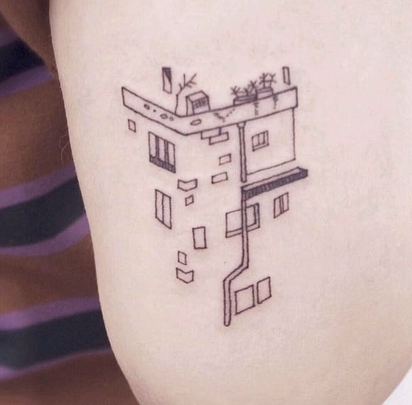 Our house tattoo