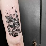 Porto city tattoo