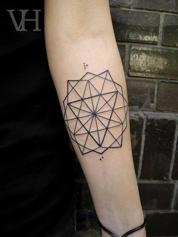 Simple minimalist geometry