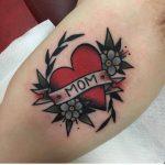 Tattoo for a mom by Jeroen Van Dijk