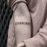 Unbroken by Loz Tattooer