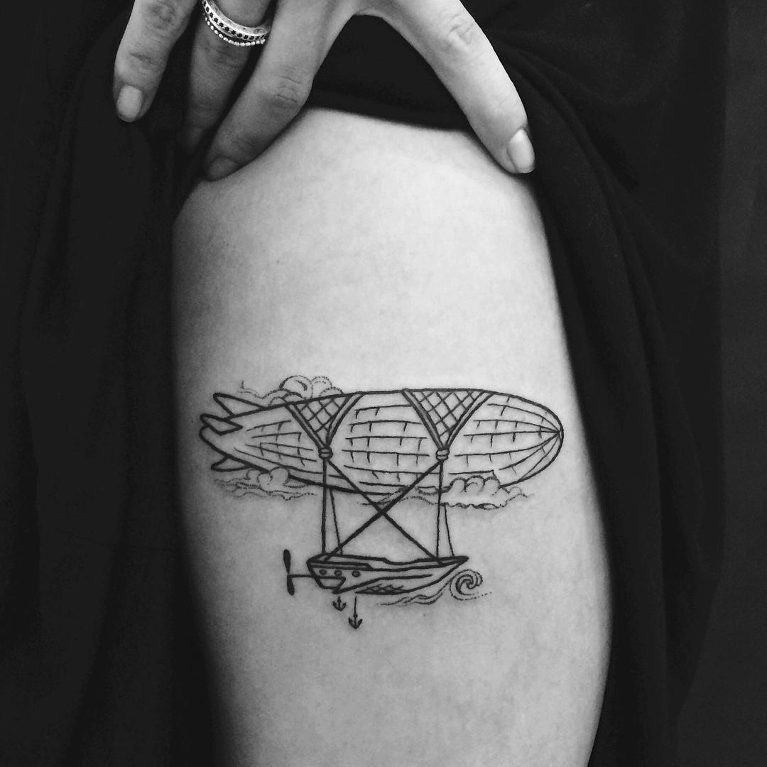 Zeppelin tattoo