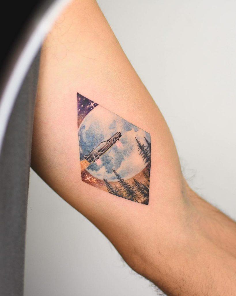 Back to the Future tattoo