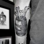 Barrel tattoo by Sva