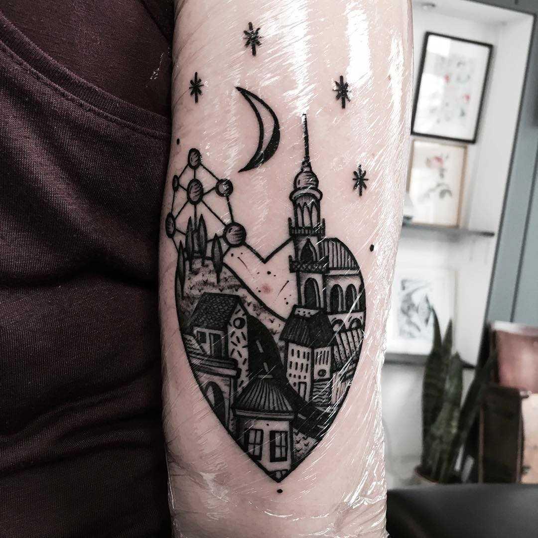 Bruxelles tattoo