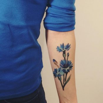 Corn flower by Sasha Unisex