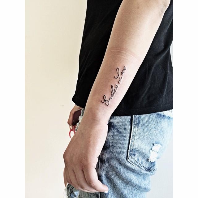 Endless love tattoo