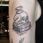 Knowledge and balance tattoo