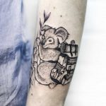 Koala traveler tattoo