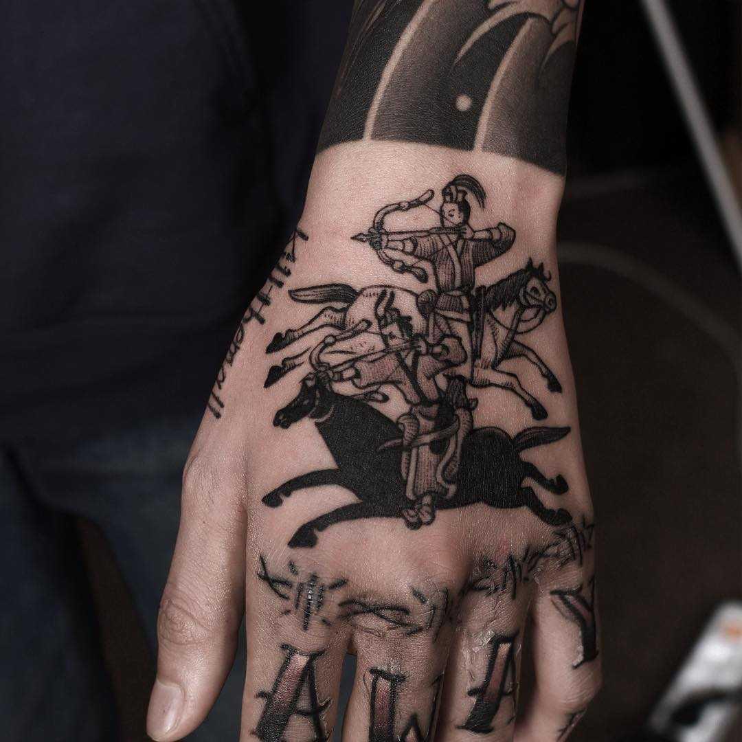 Korean archers tattoo