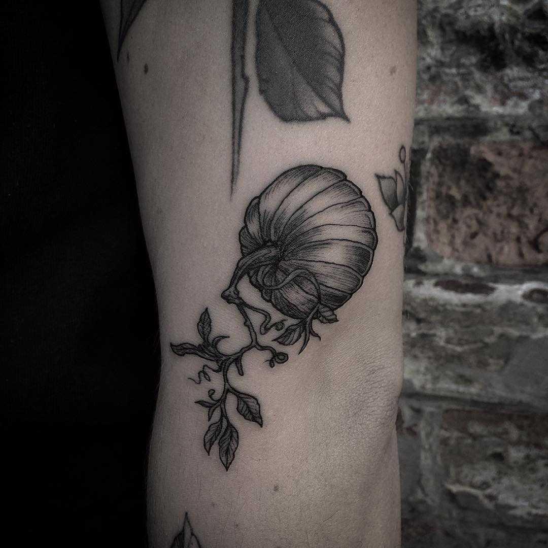 Little pumpkin tattoo