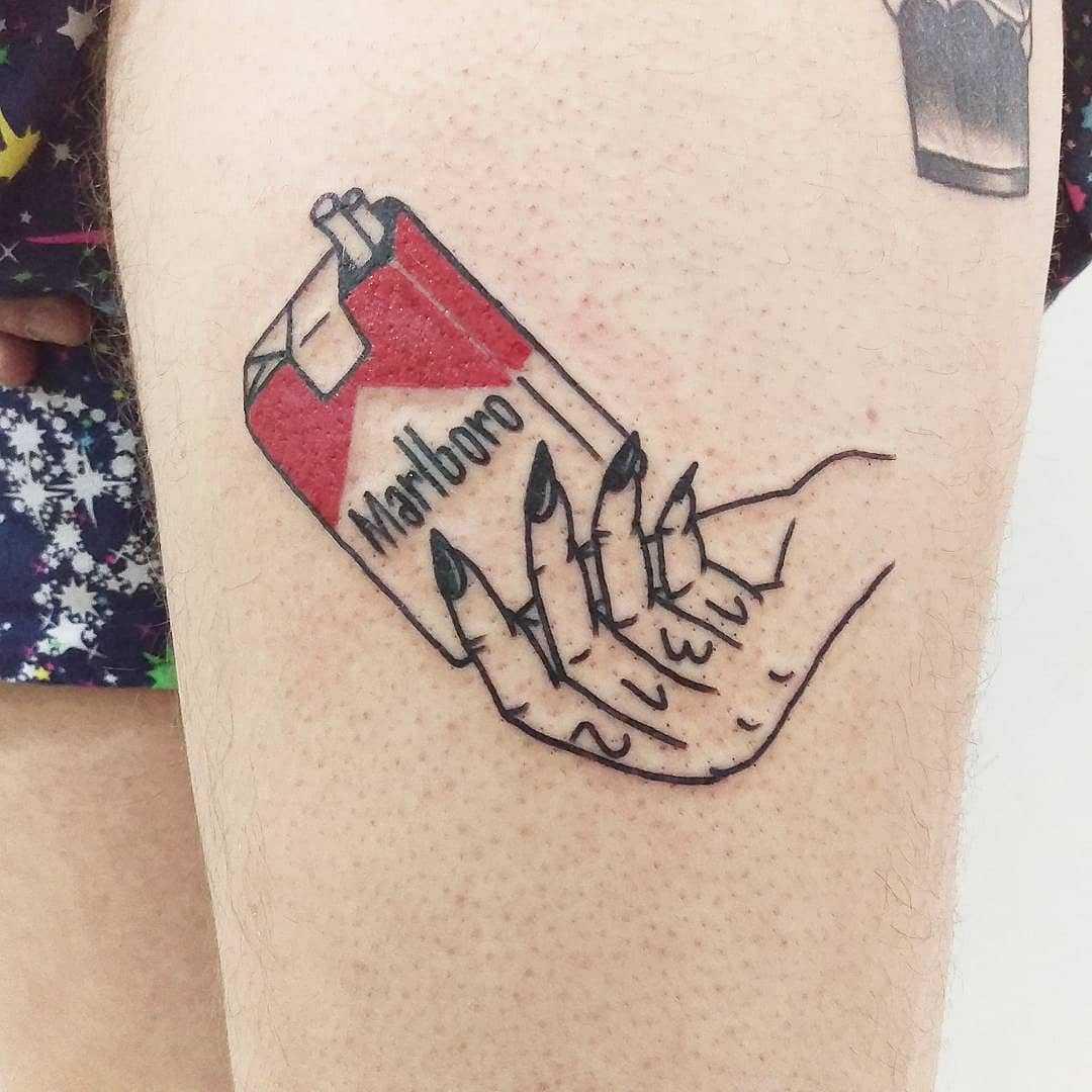 Marlboro tattoo