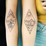 Matching landscapes for best friends by Cholo