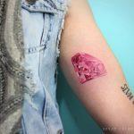 Perfect amethyst tattoo