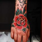 Red rose by Ssik Boy