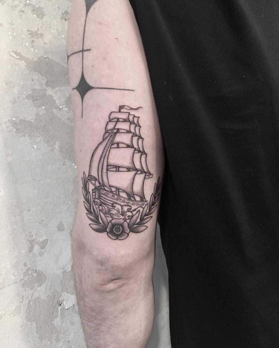 Ship by Marvelous Tattooer