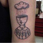 Surrealist tattoo by Suflanda
