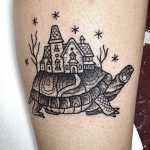 Turtle tattoo by Suflanda
