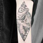 Volcano scenery by Jak Tattoos