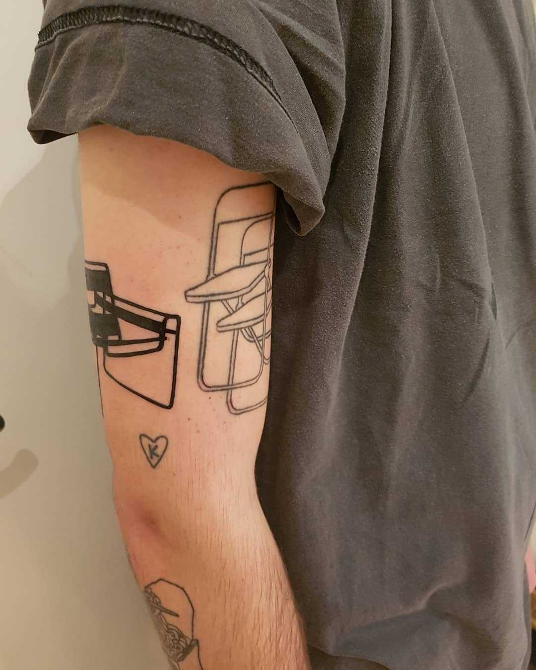 Wassily Chair tattoo