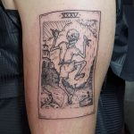 XXXV dancing death tattoo