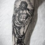 Albrecht Dürer inspired tattoo on the forearm