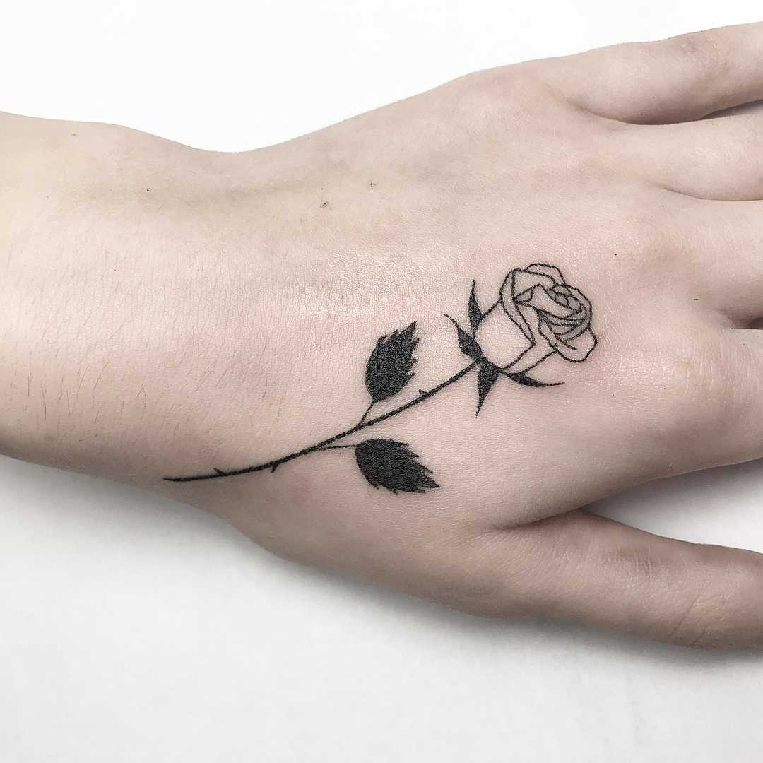 Beautiful rose by Femme Fatale Tattoo