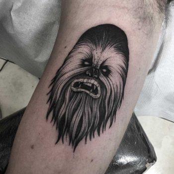 Chewbecca tattoo