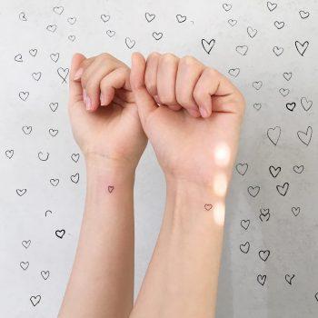 Classy friendship tattoo