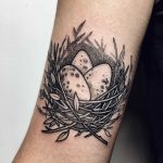 Cozy nest tattoo