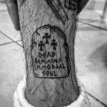 Dead remains immortal soul tattoo