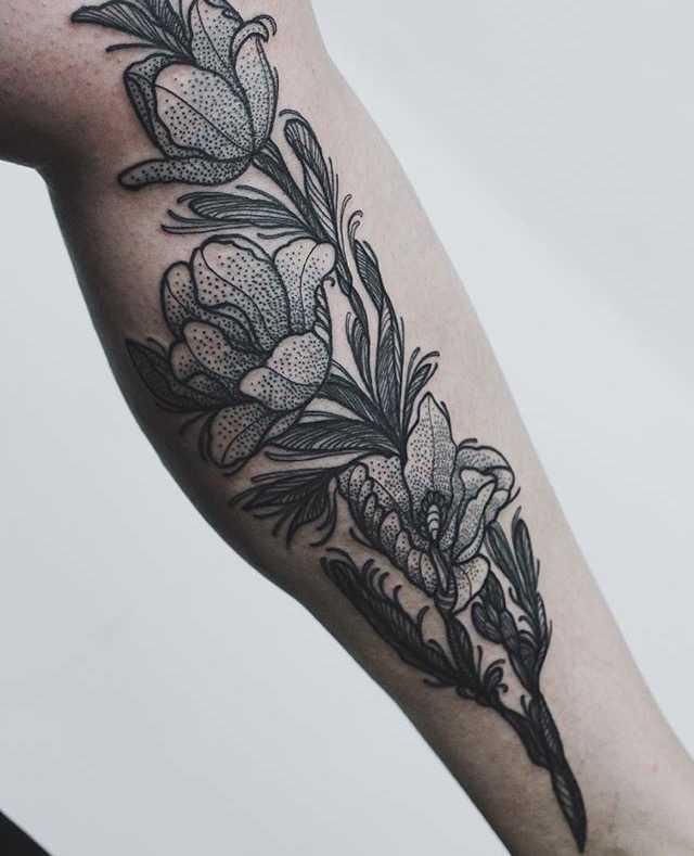 Flowers by Anna Enola