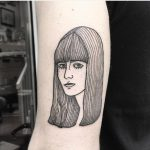 Girl tattoo by Dorca Borca