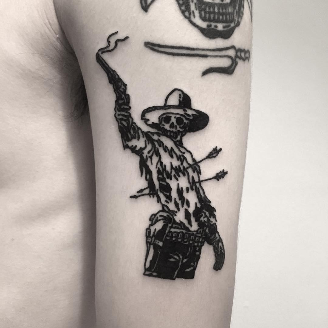 It's high noon meme tattoo
