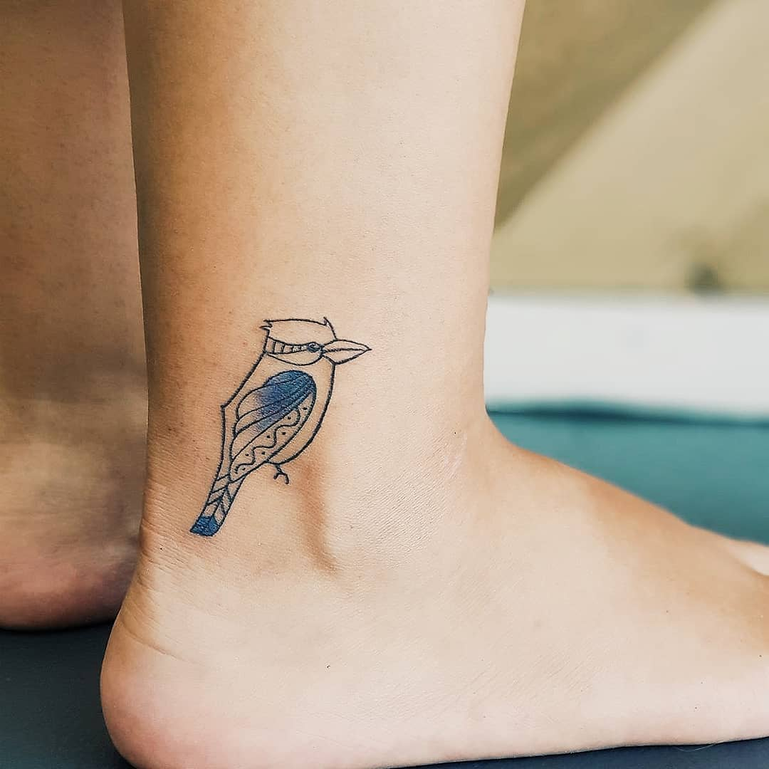 Kookaburra tattoo by Rhys Pieces