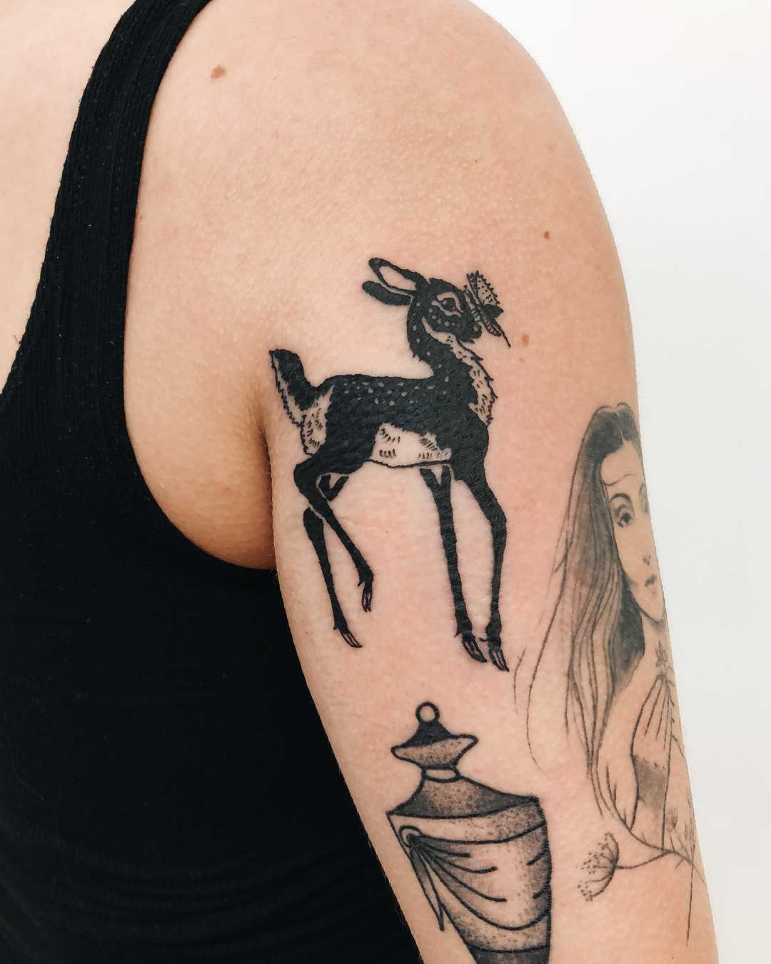 Little Bambi tattoo