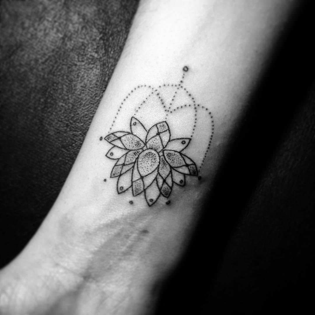 Lotus of the night tattoo