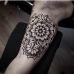 Mandala on the bicep by Jonas Ribeiro