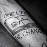 One life one chance tattoo