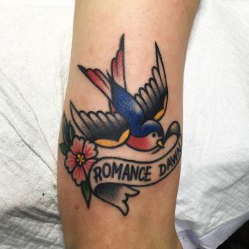 Romance dawn tattoo