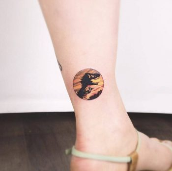 T-Rex by Anton1o Tattoo