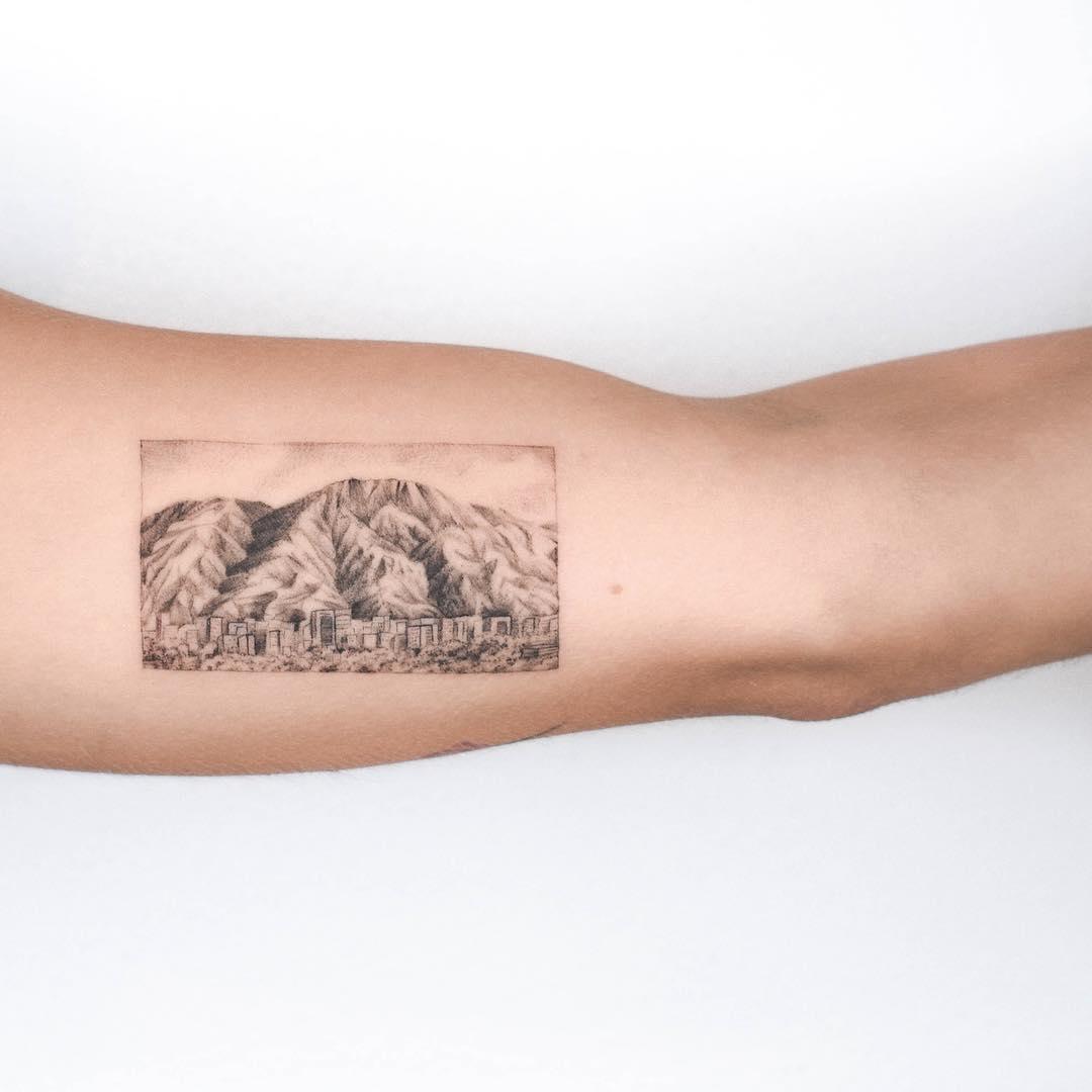 Tattoo of El Avila, Caracas, Venezuela