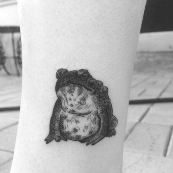 Toad tattoo by Alexandyr Valentine