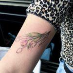 Tulip bundle tattoo